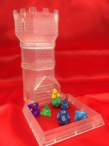 透明城堡造型 1