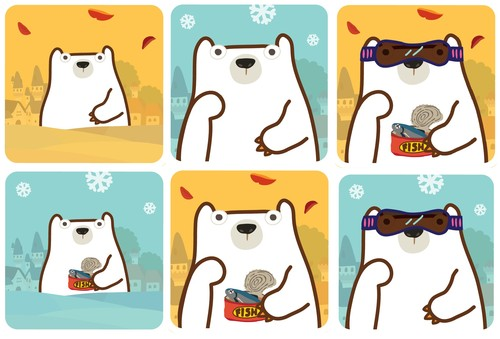 Pick a Seal 豬朋狗友 - 北極熊系列【缺貨中】 2
