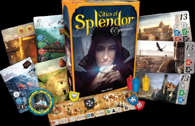 Splendor Expansion:City of Splendor 璀璨寶石 - 城市擴充 (需搭配主遊戲) 2
