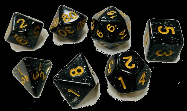 星彩套骰-黑色 1