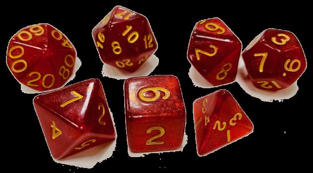 魔幻套骰-透光色 1