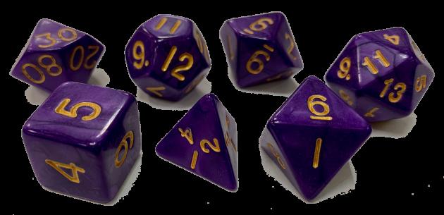 魔幻套骰-紫色 1