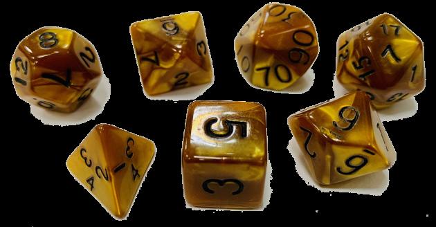 魔幻套骰-黃色 1