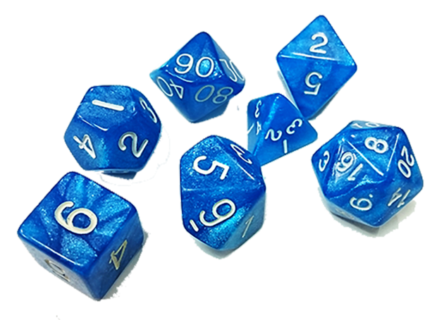 奇幻套骰-海軍藍 1